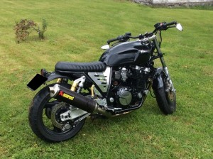 photo de YAMAHA XJR 1200 occasion de couleur noir en vente &agrave Mouterre Silly n°3