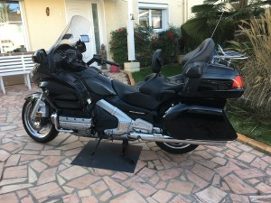 photo de HONDA GL GOLDWING 1800 1800 occasion de couleur noir en vente &agrave Strasbourg n°2