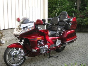 photo de HONDA GL GOLDWING 1500 occasion de couleur rouge en vente &agrave Bordeaux n°1