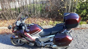 photo de YAMAHA FJR 1300 occasion de couleur rouge en vente à Troyes n°1