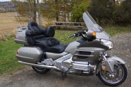 photo de HONDA GL GOLDWING 1800 1832 occasion de couleur gris en vente �  Villejuif