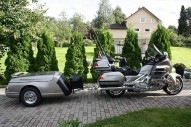 photo de HONDA GL GOLDWING 1800 1800 occasion de couleur gris en vente �  Bordeaux