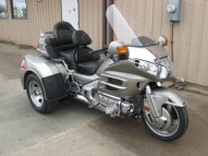 photo de HONDA GL GOLDWING 1800 1800 occasion de couleur gris en vente �  Cuisy En Almont