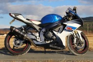 photo de SUZUKI GSX-R750 750 occasion de couleur bleu en vente �  Bordeaux