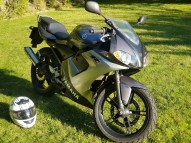 photo de YAMAHA TZR 50 occasion de couleur noir en vente �  Albert