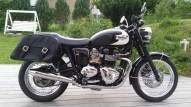 photo de TRIUMPH BONNEVILLE 865 occasion de couleur noir en vente �  Dax