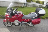 photo de BMW R 1200 RT 1200 occasion de couleur rouge en vente �  Bordeaux