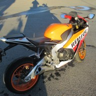 photo de HONDA CBR 1000 occasion de couleur orange en vente �  Paris 01