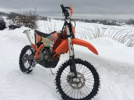 photo de KTM EXC 530 occasion de couleur orange en vente à Reims