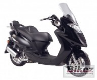 photo de KYMCO GRAND DINK 125 occasion de couleur gris en vente �  Becon Les Bruyeres