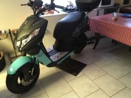 photo de PEUGEOT SCOOT ELEC 125 occasion de couleur bleu en vente �  Sartrouville