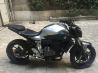 photo de YAMAHA MT 07 700 occasion de couleur argent en vente �  Marseille 06