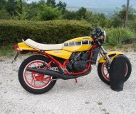 photo de YAMAHA RT 350 occasion de couleur jaune en vente �  Paris 02