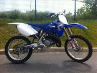 photo de YAMAHA YZ 125 occasion de couleur bleu en vente �  Paris 04