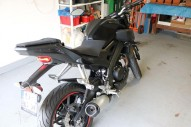 photo de YAMAHA MT 125 125 occasion de couleur noir en vente �  Metz