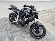 photo de YAMAHA MT-07 690 occasion de couleur noir en vente à Royan