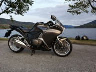 photo de HONDA VFR 1237 occasion de couleur gris en vente �  Bordeaux