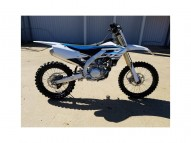 photo de YAMAHA YZ 450 occasion de couleur bleu en vente �  St Priest
