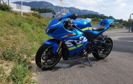 photo de SUZUKI GSX-R1000 1000 occasion de couleur bleu en vente à Bantanges